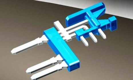overmolding electrical contacts