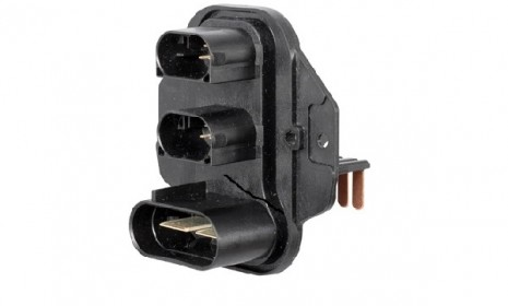 Specific connector for electric power steering