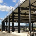 The construction of our new building is in progress…