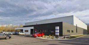 Nouveau bâtiment industriel Alpes Connectique Services